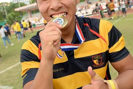 Benjamin's extra-time try sees ACS (I) retain B Division title
