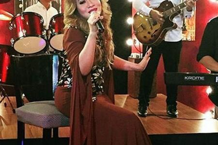 Dangdut queen Amelina makes a comeback - for her children