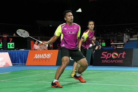 Mixed doubles pair in Malaysia Open quarter-finals