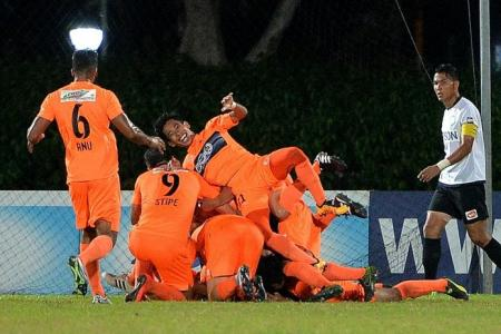 Hougang recover to end Geylang's unbeaten run