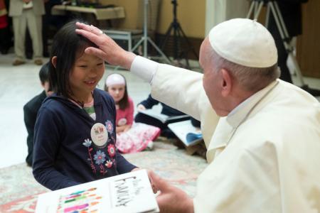 Singaporean girl, 8, chosen to meet the Pope