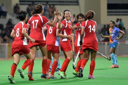 Singapore women run riot over Sri Lanka in World League opener