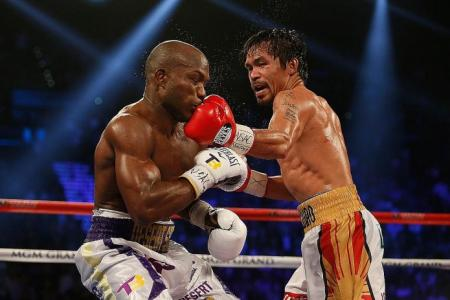 Pacquiao signs off by mauling Bradley