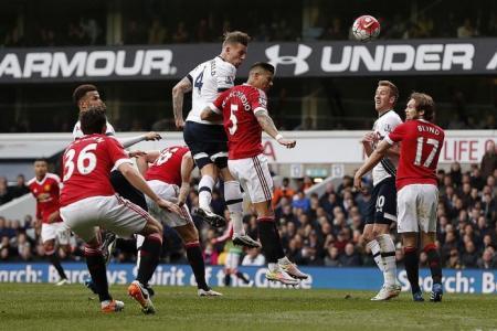 Spurs' hopes alive but van Gaal's United future looks dead, says Neil Humphreys