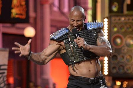 The Rock steals the show at the MTV Movie Awards