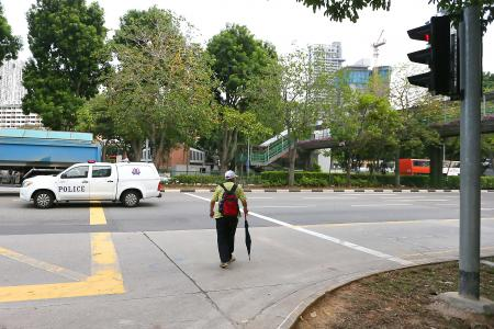 Boy, 8, killed while jaywalking with grandpa