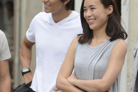 Former BFFs reunite as on-screen LOVERS