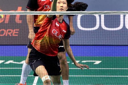 Home crowd roars mixed doubles pair to shock win