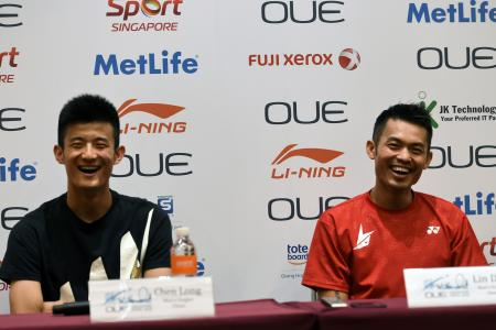 Another apology from Lin Dan