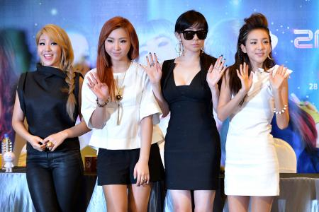 Stunned, but 2NE1's not done