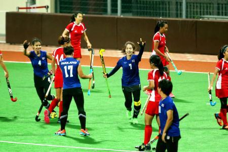 Thais too good for S'pore's hockey girls