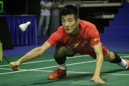 Top badminton seeds survive scares at S'pore Open