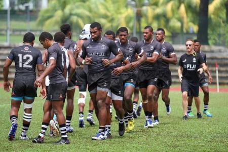 Fiji's fringe players raring to go