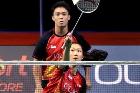 Hosts' remaining hopes bow out of OUE Singapore Open