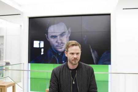 Shawn Ashmore breaks into gaming with Quantum Break