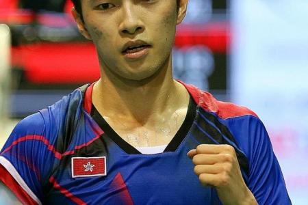 HK's world No. 14 Angus Ng ousts world No.1 Chen Hong