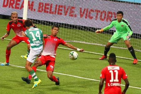 Geylang fight back for another draw