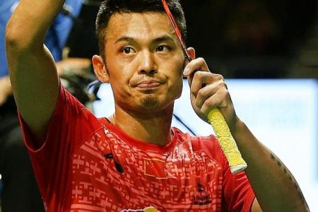 Big names out but the biggest, Lin Dan, still in