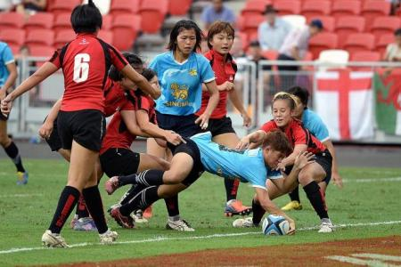 Singapore lose both SEA 7s rugby finals as Thai men and women celebrate