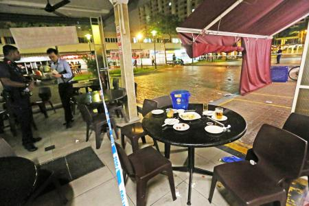 KTV dispute leads to bloody Bedok coffee shop fight