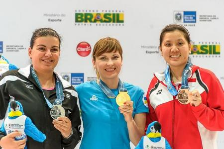 Shooter Teo bounces back to claim World Cup bronze