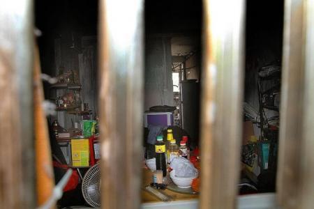 Neighbours rescue elderly man in Bukit Merah flat fire