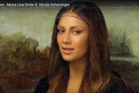 Must-see MVs: Bizarre Mona Lisa