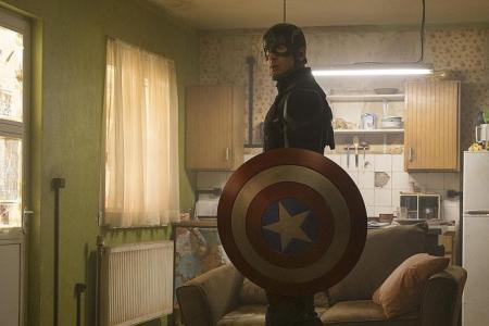 The M Interview: Chris Evans on his Cap suit