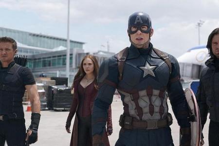 Renner, Olsen join forces in Captain America: Civil War
