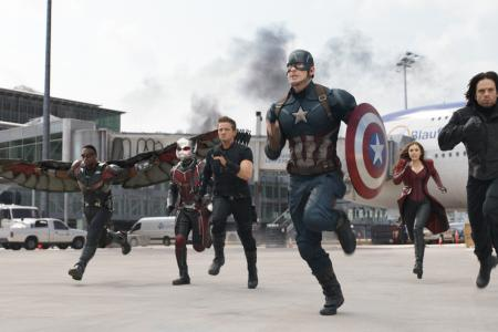 Win Captain America: Civil War movie hampers worth over $2,000!