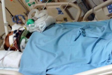 Biker couple injured in mystery accident: They still don't know who hit them