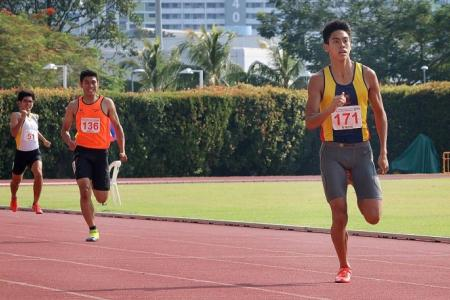ACS (I)'s 400m record-breaker Joshua's a rising star