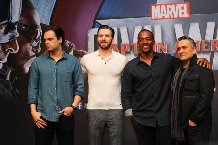 Civil War actors have only praise for each other