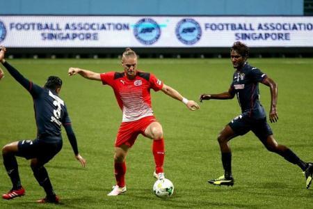 Home striker Ilso downs arch-rivals Warriors