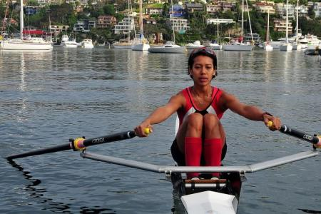 Rower Saiyidah's last chance for Olympics today, after narrow miss