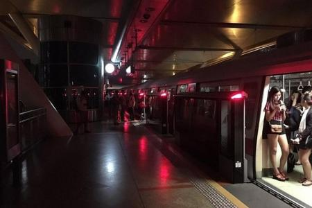 Power Trip Disrupts Four Train Lines