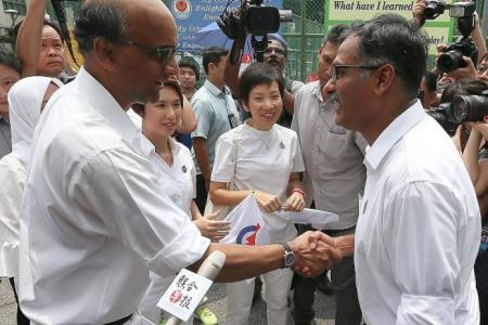 Candidates relaxed as they prepare to battle for Bukit Batok
