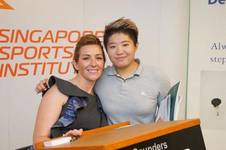 Saunders' tips for Singapore athletes on securing sponsors