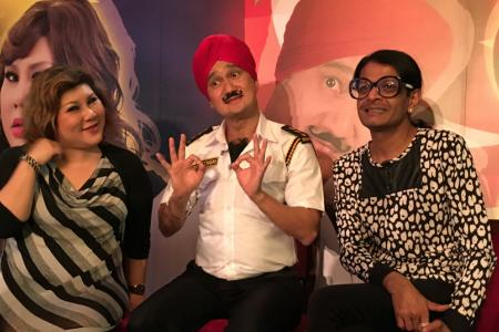 Kumar, Gurmit Singh and Joanne Kam team up for comedy show