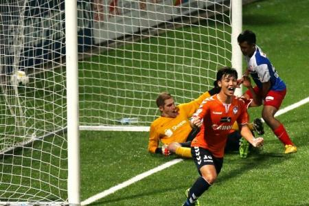 Albirex maul Young Lions to go six points clear