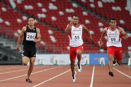 Thai sprint star Jirapong comes up short again
