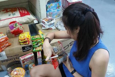 Pantry sells unused food for token sum