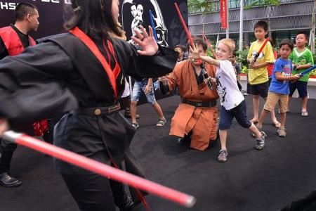 Local Star Wars fans turn out in force at celebration event