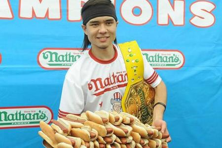 Top competitive eaters in the world
