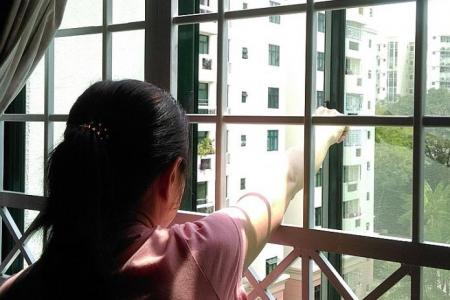 Bukit Timah condo fire: Victim was at our window, then...
