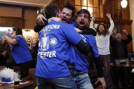 The fairy tale comes true as Leicester win EPL