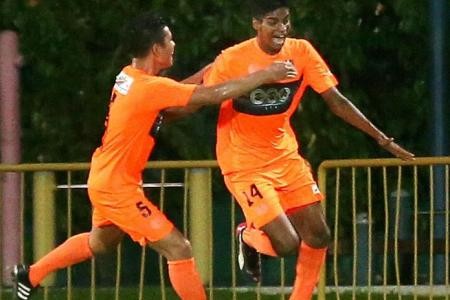 10-man Hougang fight back to earn point