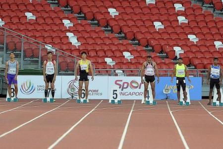 Singapore's Shyam pulls out, Sri Lanka's Rohana wins 100m gold at Asian Masters
