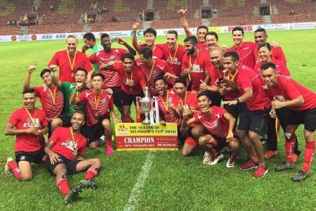 S'pore Selection win Sultan of Selangor's Cup