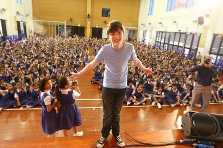 Greyson Chance: 'I still feel like a really geeky kid'